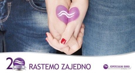 "McCann Podgorica presents the campaign ""Growing together for 20 years"""